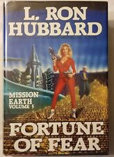 L. RON HUBBARD Mission Earth Volume 5 Fortune of Fear hardcover book