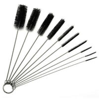 10Pcs Set Nylon Straw Brush Cleaner Bottle Tube Pipe Small Long Cleaning