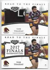 2018 NRL Elite Road To The Finals (RF 1) Sam THAIDAY Broncos 140/165