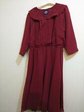 Vintage Jennifer Moore Red Dress Size 12