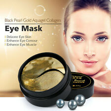 Black Pearl Gold Aquagel Collagen Eye Mask Delicate Skin Deep Moisture Patches
