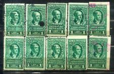 USA $1X 10 Stock Transfer-- Series 1943-- Old Stamps