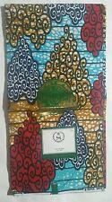 SLTX SUPER WAX BLOCK PRINTS G5021001 100% COTTON 6YDS African Print Fabric Abada