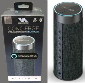 $65 NEW ILIVE Concierge Platinum Voice Activated Wireless Speaker w/Amazon Alexa