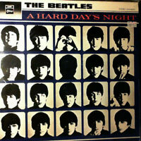 The Beatles – A Hard Day's Night LP (1982, Odeon Records)