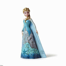 Jim Shore Disney Frozen Elsa with Ice Castle Dress Fortress of Frost 4046035