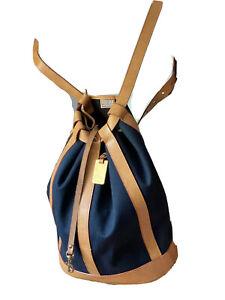Vintage Dooney & Bourke Backpack Bucket Bag Shoulder Bag