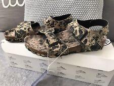 Boys Camouflage Design Birkenstock Sandals EU 30 UK 11.5