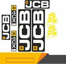 JCB 4CX DECAL STICKER SET STICKER Digger