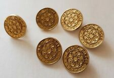 Vintage Magic Circle Pins Magic ? Math ? Crochet ? 5 bar pins, 1 lapel pin