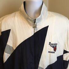 Vtg APC Windbreaker Jacket Lined Boonsboro MD Warriors Basketball XL Embroidered