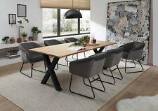 Designer Esstisch aus hochwertigem Eichenholz Wood 30mm 200x76x100 cm