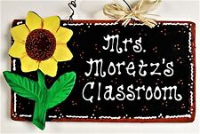 wooden teacher home décor hanging signs for sale ebay