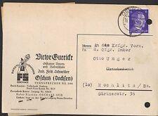 OSCHATZ, Postkarte 1944, Victor Guericke Oschatzer Baum-Rosen-Schule