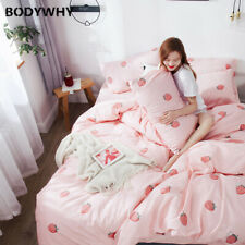 Cotton Denim Quilt Cover Three-Piece Suit Summer Bedding Dormitory Bed Single