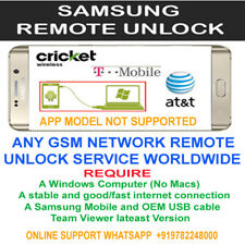 UNLOCK CODE REMOTE SERVICE SAMSUNG GALAXY HALO J7 SM-J727AZ CRICKET AT&T USA