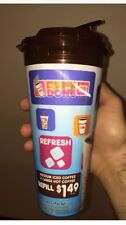 One New Dunkin Donuts Hot Or Cold Coffee Cup 24Oz 720ml Tea Juice Shake With Lid