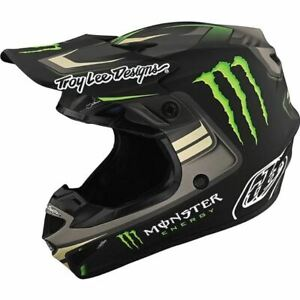 Troy Lee Designs SE4 Polyacrylite Flash Monster Limited Edition Helmet