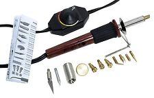 Wood Burner Craft Tool Pyrography Pen 11 Burning Tips Wood burning Stamping Kit