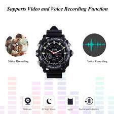Spy Wrist DV Watch 16GB Video IR Night Vision 1080P Hidden Camera Waterproof