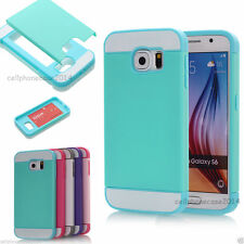 Unbranded/Generic Patterned Mobile Phone Cases, Covers & Skins for Samsung Galaxy S6 with Card Pocket