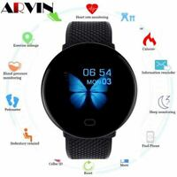 Smartwatch Sport Pedometer Fitness Tracker Heart Rate iOS Android Bluetooth