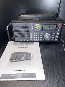 Grundig Satellit Eton Elite 750 Shortwave AM FM Air Receiver Ham Radio