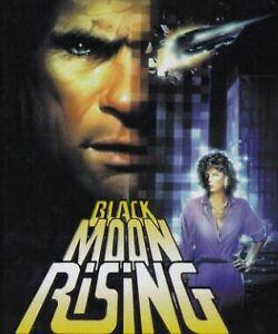 Black Moon Rising DVD 1980s Tommy Lee Jones  - Action Adventure
