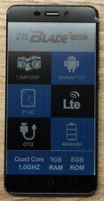 ZTE  Blade A452 black RÜCKLÄUFER 13MPX Kamera Whatsapp Dual Sim LTE Wlan wie neu