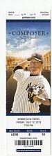 2013 NY YANKEES VS TWINS TICKET STUB 7/12/13 MARIANO RIVERA SAVE SV #30