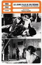 FICHE CINEMA : JEUNES FILLES DE SAN FREDIANO - Cifariello,Podestà,Zurlini 1955