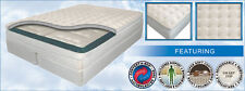 """CALIFORNIA KING 11"""" AIR BED MATTRESS w/ 50 NUMBER REMOTE CONTROLS"""