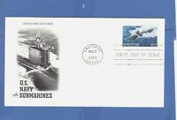 FIRST DAY ISSUE FDC  U.S. NAVY SUBMARINES LOS ANGELES CLASS SUB 33 CENT STAMP