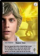 Star Wars Jedi Knights Scum and Villainy TCG 74U Deflection Luke First Printing