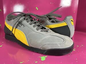 PUMA MEN'S ROMA RETRO NUBUCK LIGHTWEIGHT CLASSIC SHOES US Size 10