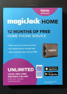 magicJack Portable VoIP Phone Adapter [ Version 9 ] NEW