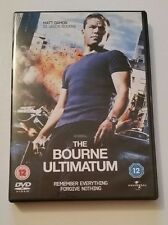 The Bourne Ultimatum - Region 2 - Very Good Condition - DVD - Tested