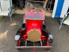 Restored Model T Go Kart, AKA Shriners/Tin Lizzie, 1960's with B&S 2hp engine
