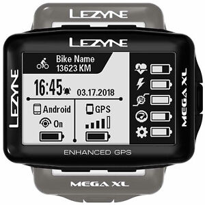Lezyne GPS Mega XL GPS Cycle Computer Cycling Bike Riding