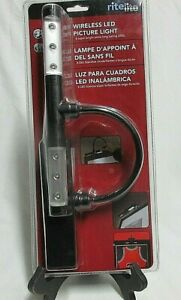 New Rite Lite Wireless LED Picture Light  Black  Factory Sealed