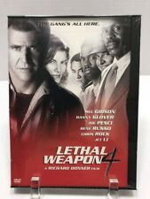 New Sealed Lethal Weapon 4 (DVD, 1998, Premiere Collection) Mel Gibson Action