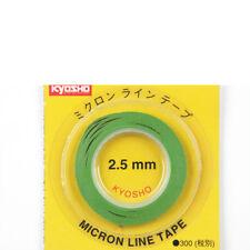 Bande Décorative 2.5 mm x 5 m Vert KYOSHO 1843-g #700915