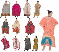 Kaftan Dress Caftan Beach Cover Boho Gown Hippie Beach Women African Plus Size