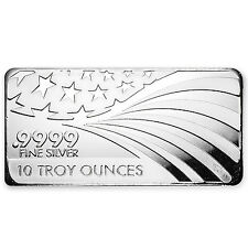 10 oz Silver Bar - APMEX/RMC (.9999 Fine, Co-Branded) - SKU #79374