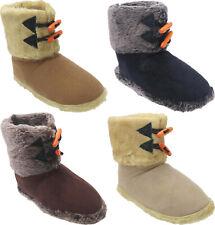 Damen Herren Winter warm Hüttenschuhe Hausschuhe Pantoffeln Schlappen Nr. 111