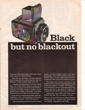 1967 Bronica Black S2 6x45 Camera Ad