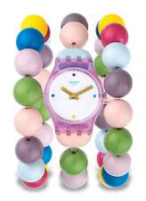 Swatch Party Beads L Uhr LP148A Analog  Kunststoff Bunt