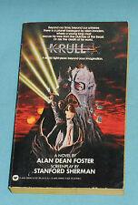 vintage KRULL movie tie-in book by Alan Dean Foster