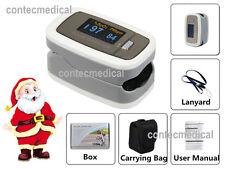 Fingertip Pulse Oximeter Heart Rate Monitor,SpO2 PR blood oxygen Meter OLED wave