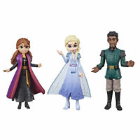 Disney Frozen 2 Anna, Elsa, and Mattias Small Dolls 3-Pack